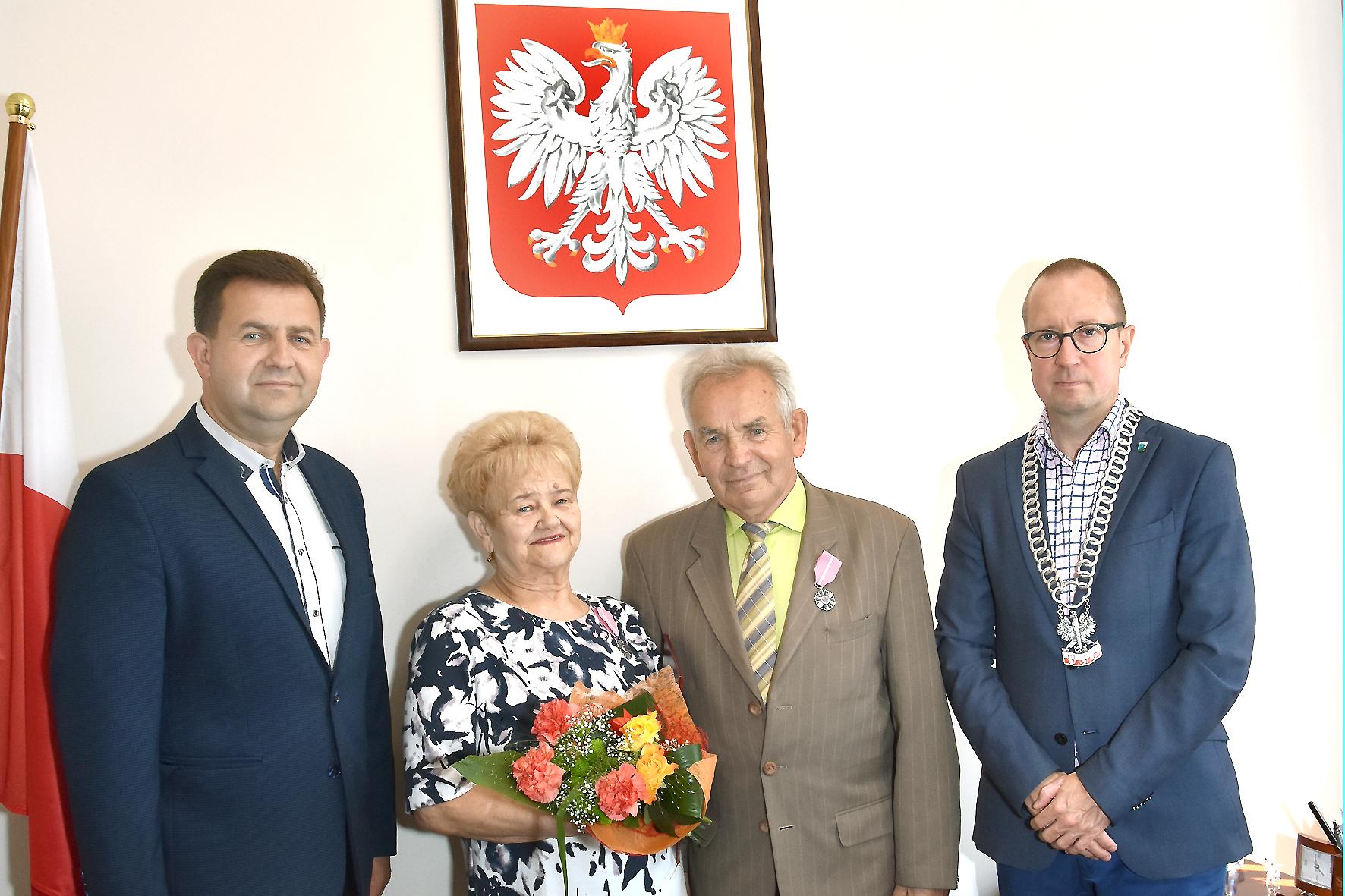 50-lecie Pożycia Małżeńskiego Drzycimscy