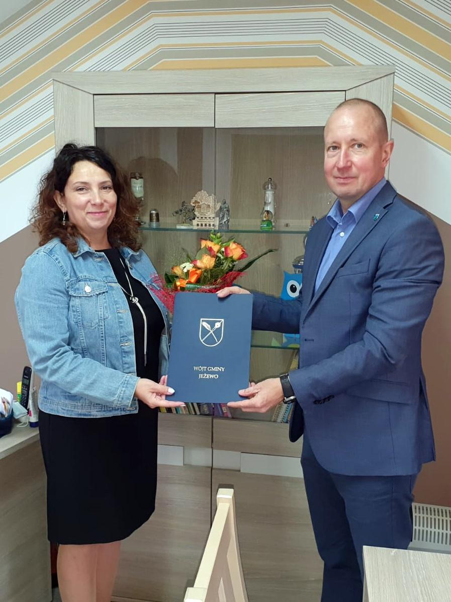 Jubileusz 20-lecia pracy Dyrektora Szkoły Podstawowej w Krąplewicach