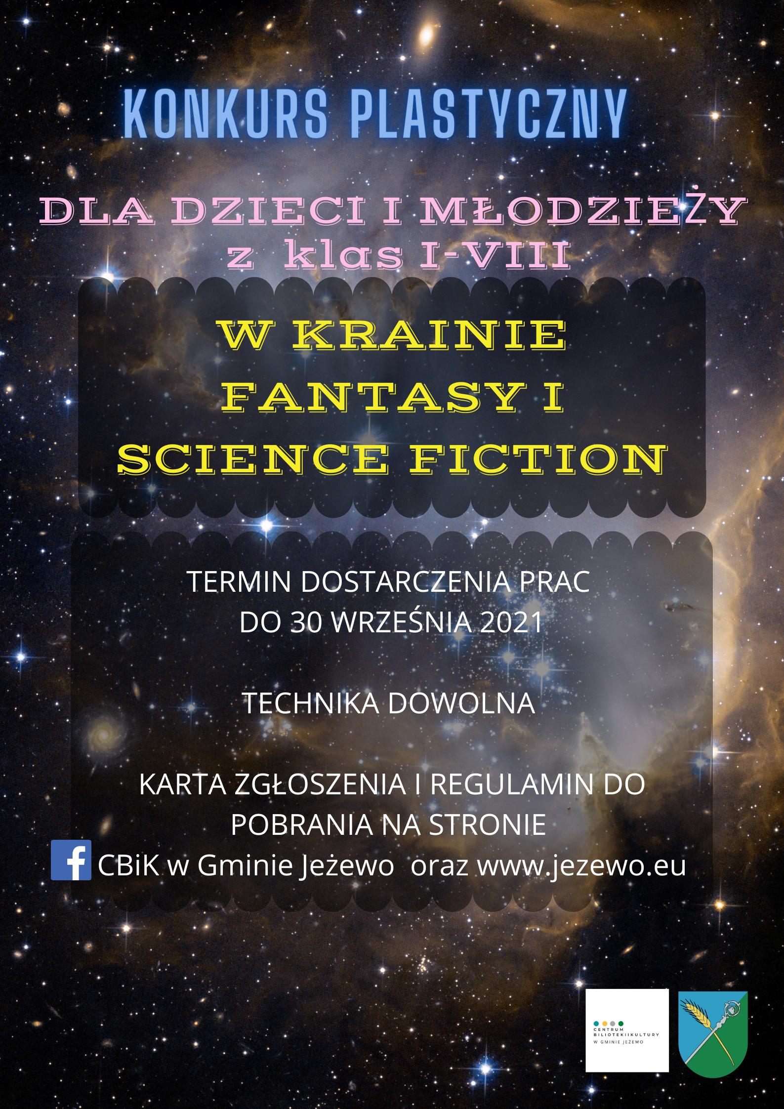KONKURS W krainie fantasy i science fiction