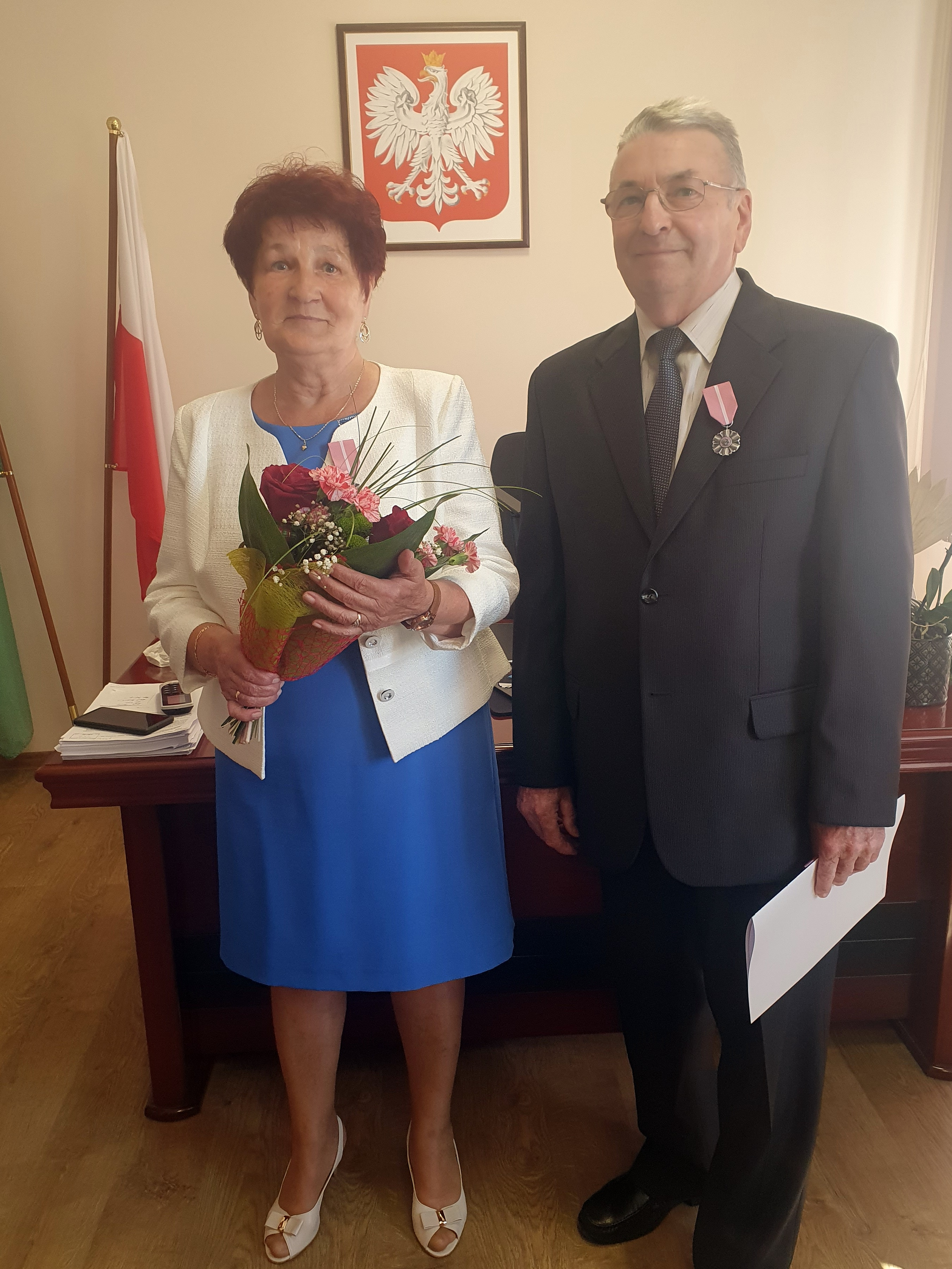Państwo Maria i Roman Grzybowscy