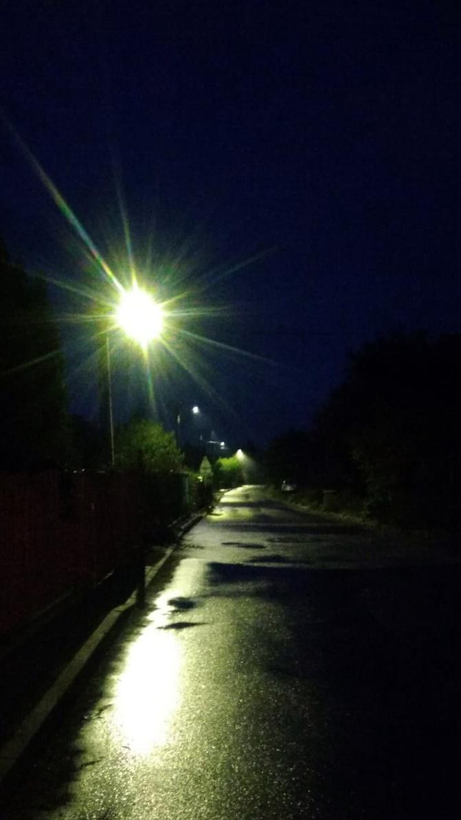 Lampy led na ulicy